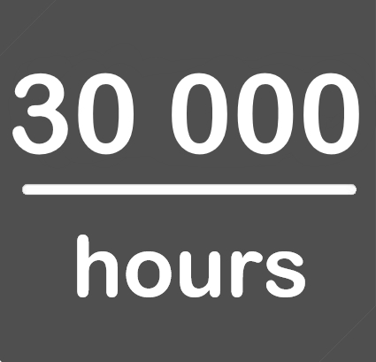 30000hours.
